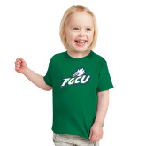 Toddler Kelly Green T Shirt-Primary Athletic Mark