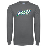Charcoal Long Sleeve T Shirt-FGCU