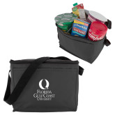 Six Pack Grey Cooler-University Mark Stacked