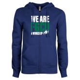 ENZA Ladies Royal Fleece Full Zip Hoodie-We Are FGCU
