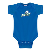 Royal Infant Onesie-Primary Athletic Mark