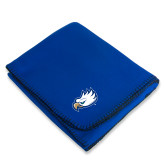 Royal Arctic Fleece Blanket-Eagle Head