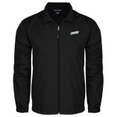 Full Zip Black Wind Jacket-FGCU