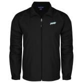 Full Zip Black Wind Jacket-FGCU
