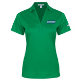 Ladies Kelly Green Performance Fine Jacquard Polo-ASUN Champions 2017 Mens Basketball