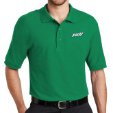 Kelly Green Easycare Pique Polo-FGCU