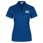 Ladies Royal Performance Fine Jacquard Polo-FGCU at 20 Stacked