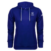 Adidas Climawarm Royal Team Issue Hoodie-University Mark Stacked
