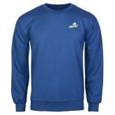 Royal Fleece Crew-Primary Athletic Mark