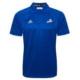 Adidas Climalite Royal Jaquard Select Polo-Primary Athletic Mark