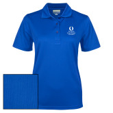 Ladies Royal Dry Mesh Polo-University Mark Stacked