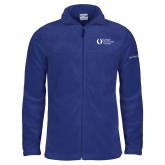 Columbia Full Zip Royal Fleece Jacket-University Mark Flat