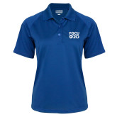 Ladies Royal Textured Saddle Shoulder Polo-FGCU at 20 Stacked