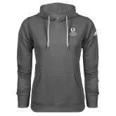 Adidas Climawarm Charcoal Team Issue Hoodie-University Mark Stacked