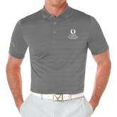 Callaway Opti Vent Steel Grey Polo-University Mark Stacked