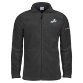Columbia Full Zip Charcoal Fleece Jacket-Primary Athletic Mark