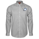 Red House Grey Plaid Long Sleeve Shirt-Eagle Head