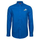 Red House French Blue Long Sleeve Shirt-Primary Athletic Mark