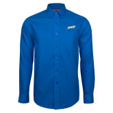 Red House French Blue Long Sleeve Shirt-FGCU