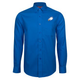 Red House French Blue Long Sleeve Shirt-Eagle Head