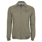 Khaki Players Jacket-University Mark Flat