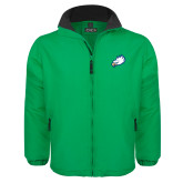 Kelly Green Survivor Jacket-Eagle Head