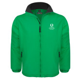 Kelly Green Survivor Jacket-University Mark Stacked
