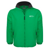 Kelly Green Survivor Jacket-University Mark Flat