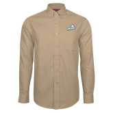 Red House Tan Long Sleeve Shirt-Primary Athletic Mark