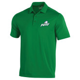 Under Armour Kelly Green Performance Polo-Primary Athletic Mark