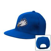 Royal Flat Bill Snapback Hat-Eagle Head