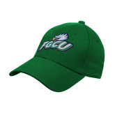 Kelly Green Heavyweight Twill Pro Style Hat-Primary Athletic Mark