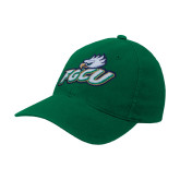 Kelly Green Flexfit Mid Profile Hat-Primary Athletic Mark