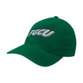 Kelly Green Flexfit Mid Profile Hat-FGCU