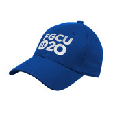 Royal Heavyweight Twill Pro Style Hat-FGCU at 20 Stacked