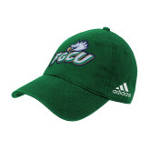 Adidas Kelly Green Slouch Unstructured Low Profile Hat-Primary Athletic Mark