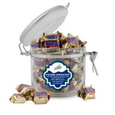 Snickers Satisfaction Round Canister-Primary Athletic Mark