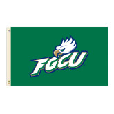 3 ft x 5 ft Flag-FGCU w/ Eagle