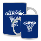 Full Color White Mug 15oz-Regular Season Champions 2017 Mens Basketball Net Design