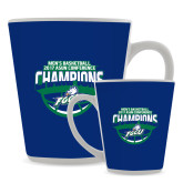 Full Color Latte Mug 12oz-ASUN Champions 2017 Mens Basketball