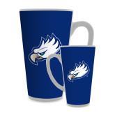 Full Color Latte Mug 17oz-Eagle Head