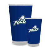Full Color Glass 17oz-Primary Athletic Mark