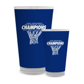 Full Color Glass 17oz-Regular Season Champions 2017 Mens Basketball Net Design