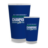 Full Color Glass 17oz-Asun Conference 2017 Womens Basketball Champions