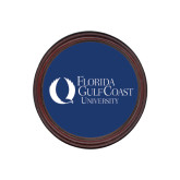 Round Coaster Frame w/Insert-University Mark Flat