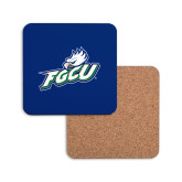 Hardboard Coaster w/Cork Backing-Primary Athletic Mark