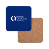 Hardboard Coaster w/Cork Backing-University Mark Flat