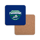 Hardboard Coaster w/Cork Backing-ASUN Champions 2017 Mens Basketball