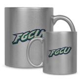 Full Color Silver Metallic Mug 11oz-FGCU