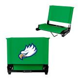 Stadium Chair Kelly Green-Eagle Head